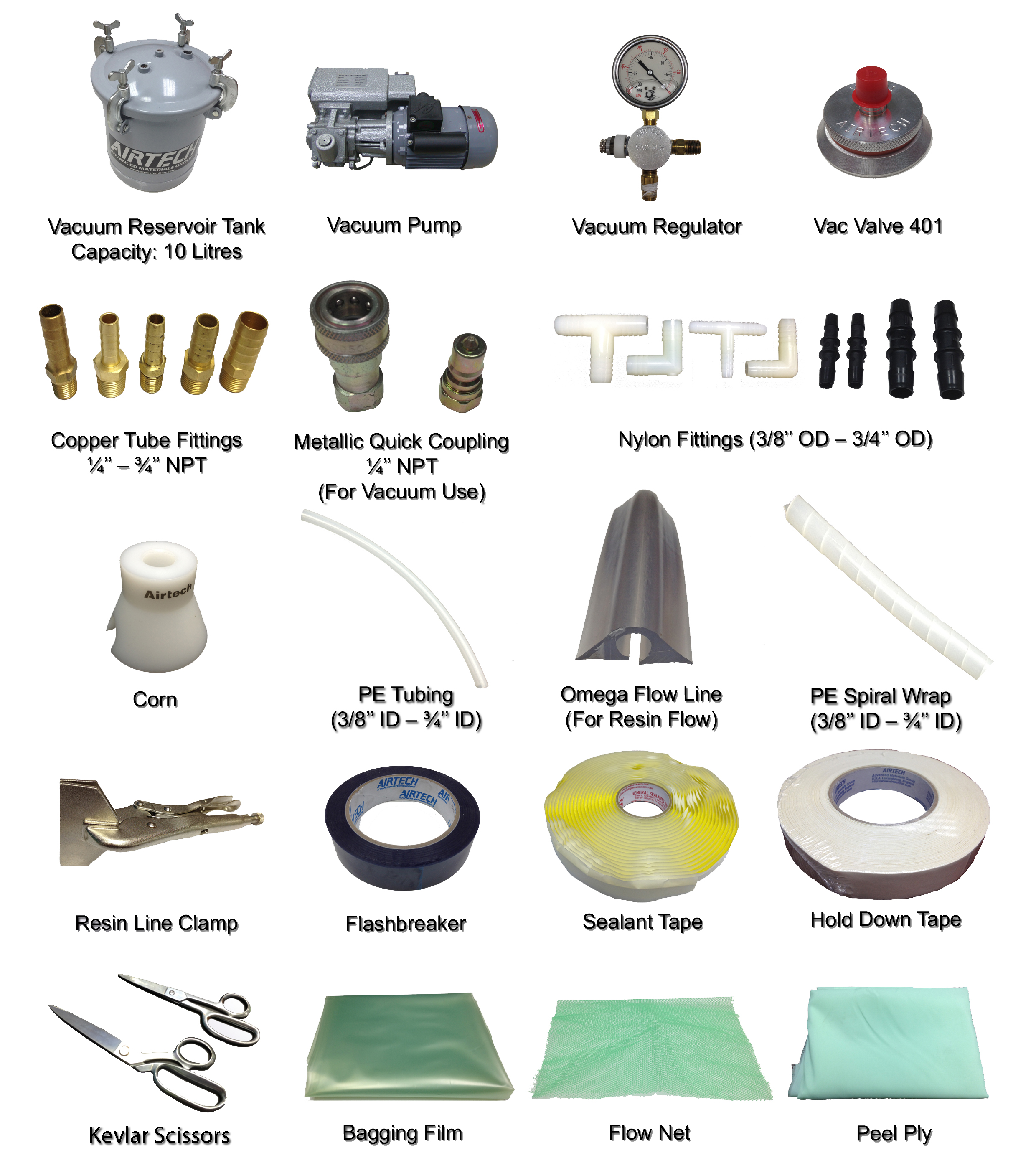 Resin Infusion Accessories Flyer